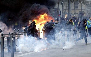 Monuments and shops reopen in Paris after protests and riots across France injure 71 people