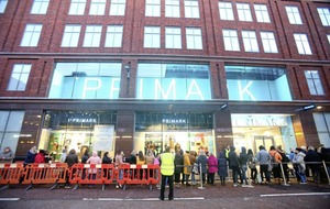 More than 1,000 shoppers queue for reopening of Primark in Belfast