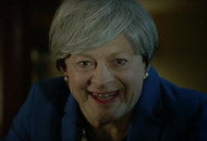 Andy Serkis brings back Gollum for Theresa May spoof