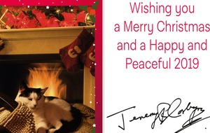 El Gato takes pride of place as Jeremy Corbyn releases Christmas card