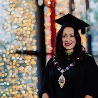 Mayor Lindsay Millar graduates from Ulster University