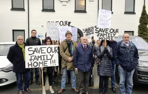 Protesters picket Victoria Housing Estates office over condition of homes