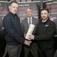 Rory Beggan displays earn Ulster Writers' award