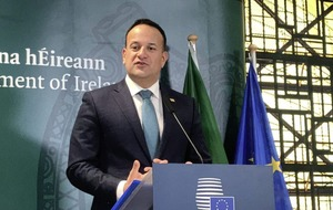 Irish border backstop cannot be renegotiated, Leo Varadkar warns