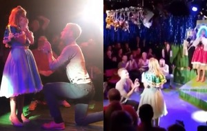 Panto proposal: Boyfriend gets on stage to ask Cinderella actress to marry him