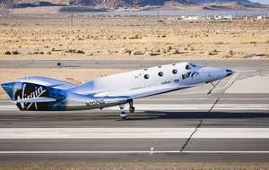 Virgin Galactic rocket plane could reach 'space altitudes' during next test