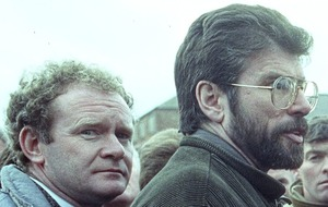 Gerry Adams says he thinks about Martin McGuinness every day