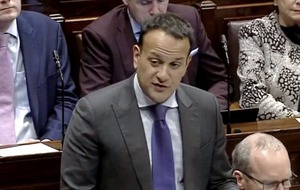 Leo Varadkar says Brexit withdrawal treaty cannot be changed