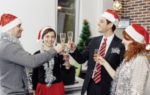'Tis the season to be jolly - and careful - at the work party