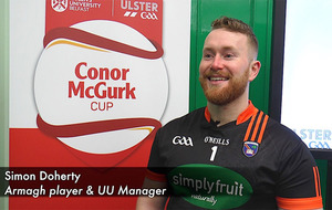 Hurler Simon Doherty says he'll be on the winning team either way