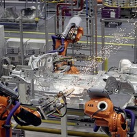 Manufacturing output at seven-year high - but it's service without a smile