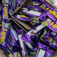 Man arrested after being found with huge stash of Twirl bars