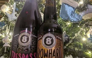 Craft Beer: Saison's greetings from Eight Degrees in form of Trespass and Blowhard