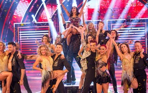 Ashley Roberts and Faye Tozer lead Strictly finale with perfect first dances