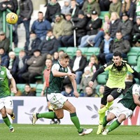 Rejuventated Hibs deal Hoops title hopes a blow