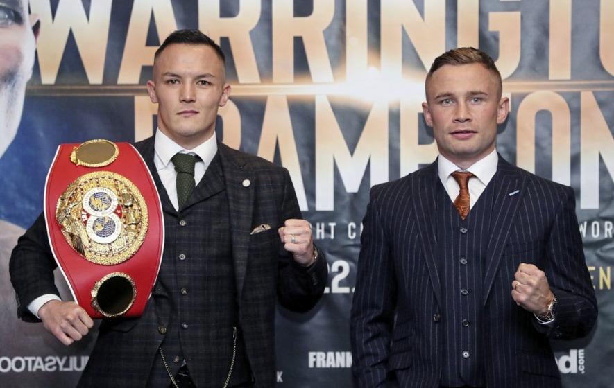 Josh Warrington: Carl Frampton not over the hill