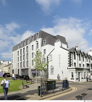 Proposed hotel and serviced apartments set to transform Portrush