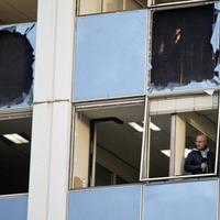 Powerful blast outside private Greek TV station Skai 'an attack against democracy'