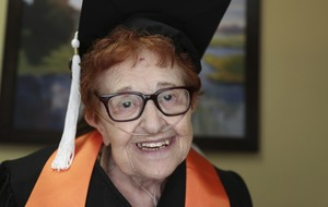 Woman, 84, rejects bingo in retirement to graduate from university