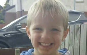Funeral of three-year-old accident victim Kai Corkum to take place in Newtownards