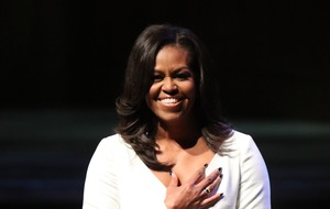 Michelle Obama beats David Walliams to top of Christmas book chart