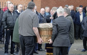Funeral of former Workers' Party leader Sean Garland takes place in Dublin