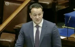 Anger over taoiseach's remark to Sinn Féin TD that his 'balaclava had slipped'