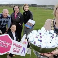 Training for 500 golf 'ambassadors' ahead of the 148th Open at Royal Portrush