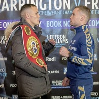Carl Frampton putting it all on the line in world title showdown with Josh Warrington