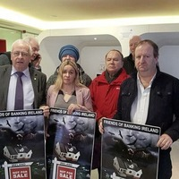 Protest at bank as fallout from Strokestown eviction continues