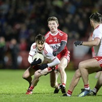 Tyrone too strong for Derry in McKenna Cup opener at Celtic Park