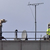 'Drone Dome' system believed to be in use at Gatwick Airport