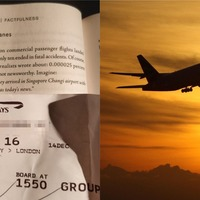 Plane passenger's book eerily references the exact flight they're reading it on