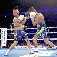 Carl Frampton considers his future after defeat to Josh Warrington