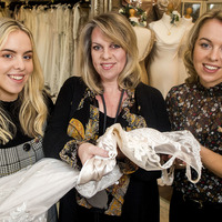 Mum of premature twins uses wedding dress business to raise charity funds