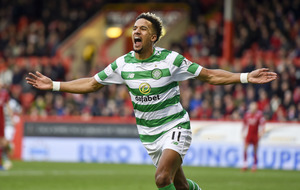 Scott Sinclair hat-trick keeps Celtic top in Scotland