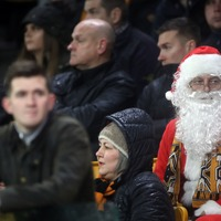 The pros and cons of dressing as Father Christmas at the football