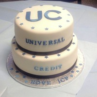 Universal Credit roll-out 'celebrated' with £4,000 cakes and cupcakes