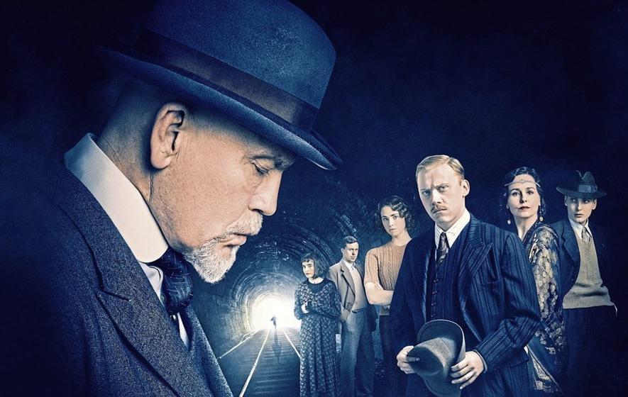 Tv Review John Malkovich Stars In Fresh Take On Agatha Christie S