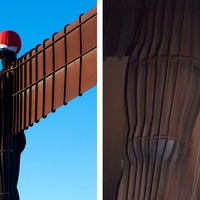 Angel of the North's Santa hat stolen … by The Grinch