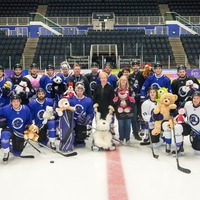 Ice hockey team sends toys to sick children in Malawi