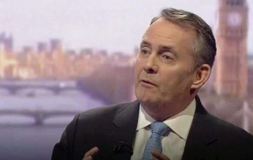 Britain's international trade secretary Liam Fox