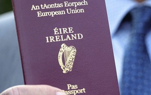 Almost 200,000 Irish passport applications received from Britain and Northern Ireland