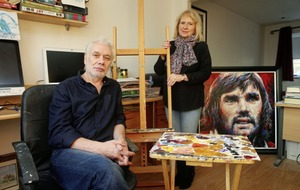 Artist Tony Bell tells how Long Kesh windows helped him on path to a career in art