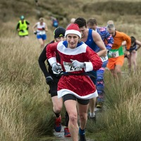 In Pictures: New Year runners head for the hills