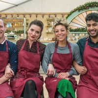 Candice Brown returns to tent in Great New Year's Bake Off