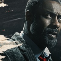 Idris Elba dons famous coat for fifth series of Luther