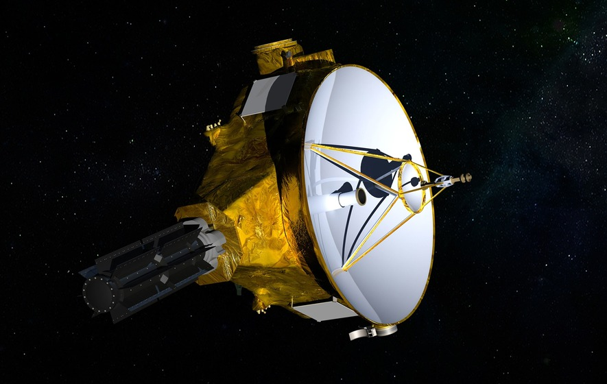 Nasa spacecraft hurtles towards tiny, icy world beyond Pluto