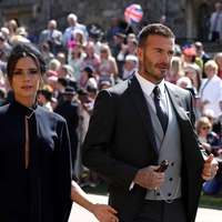 David Beckham 'feeling it' after New Year's Eve party
