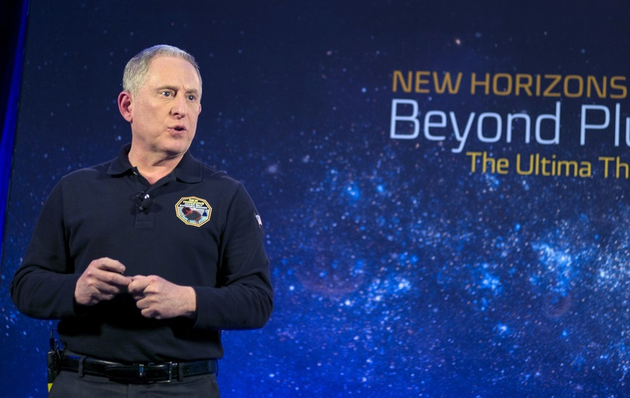 Ring in the New Year With NASA's New Horizons